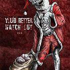 Zombie Santa by Phillip Blackman