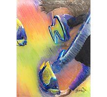 Scuba Diver and Fish Photographic Print