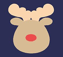 Rudolph the Red Nosed Reindeer #2 by simplepaperplan