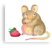 Gustav The Mouse (1/3) Canvas Print