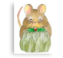 Gustav The Mouse (3/3) Canvas Print