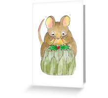 Gustav The Mouse (3/3) Greeting Card