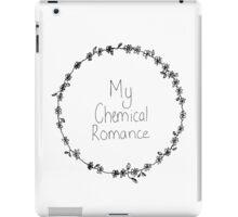 My Chemical Romance Flower Crown iPad Case/Skin