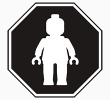 MINIFIG ROADSIGN by Customize My Minifig by ChilleeW