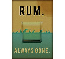 Rum Photographic Print
