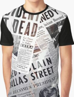 JFK in the news Graphic T-Shirt