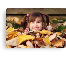 Fall's True Beauty Canvas Print