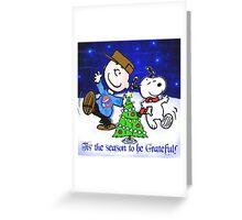 charlie 's tree Greeting Card
