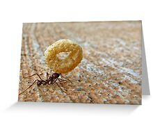 A Mighty Ant Greeting Card