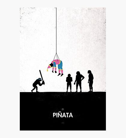 99 Steps of Progress - Pinata Photographic Print