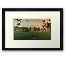 Jonno Plays Clash of Clans YouTube Art Framed Print
