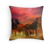 Triumvirate Throw Pillow