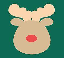 Rudolph the Red Nosed Reindeer #5 by simplepaperplan