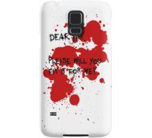 Dear Jim... Samsung Galaxy Case/Skin