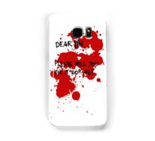 Dear Jim... Samsung Galaxy Case/Skin