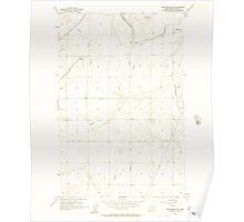 USGS Topo Map Washington State WA Winchester NE 244734 1956 24000 Poster