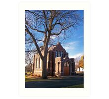 Glidden Memorial Chapel Art Print