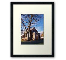 Glidden Memorial Chapel Framed Print