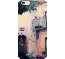 Pink Stucco House France French Cote d'Azur iPhone Case/Skin