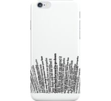 White Perspective iPhone Case/Skin