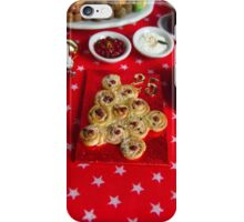 1/12th scale miniature Christmas Tree Bread iPhone Case/Skin