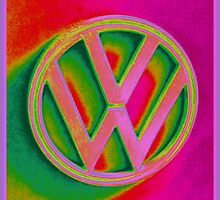 VW bay badge by ©The Creative  Minds