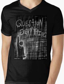 Question Everything Mens V-Neck T-Shirt