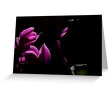 Midnight Flower Greeting Card