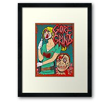 Goregrind - Nurse Kate Gore Framed Print