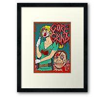 Goregrind - Nurse Kate Gore Framed Print