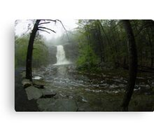 At a Distance, Awosting Falls Canvas Print