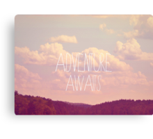 Adventure Awaits Canvas Print