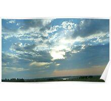 Magical Sun & Clouds Poster