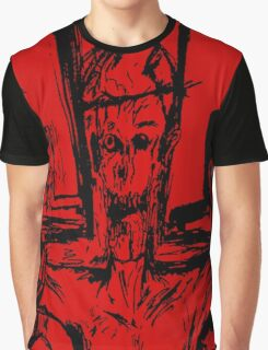 Zombie Christ (In Red) Graphic T-Shirt