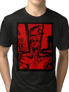 Zombie Christ (In Red) Tri-blend T-Shirt