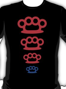 knuckle duster trio T-Shirt