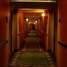 hallway iphone/samsung galaxy cover by mellychan