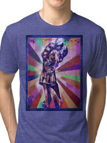 Colourful Kiss Tri-blend T-Shirt