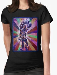 Colourful Kiss Womens Fitted T-Shirt
