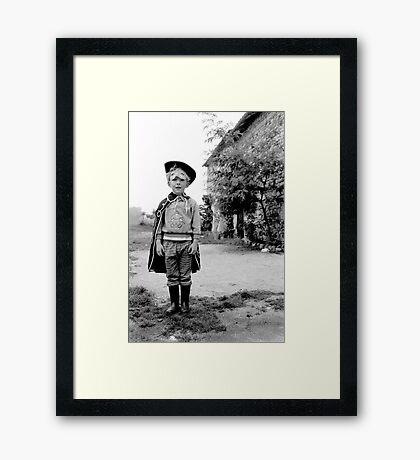 1990 - zorro Framed Print