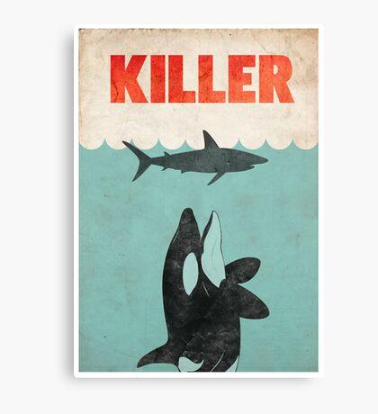 Jaws Killer Whale Switcheroo  Canvas Print