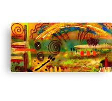 The Journey Back Home Canvas Print