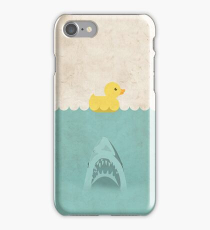 Jaws Rubber Duck iPhone Case/Skin