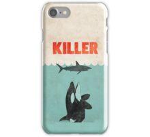 Jaws Killer Whale Switcheroo  iPhone Case/Skin