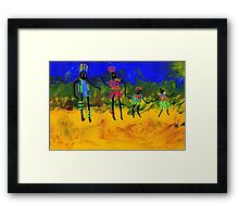 The Village People  Framed Print