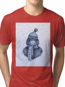 Holiday Squatch Tri-blend T-Shirt