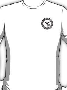 Yasogami High Logo- Black T-Shirt