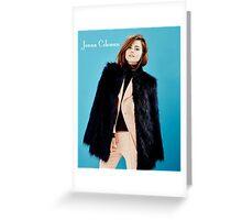 Jenna Coleman Greeting Card