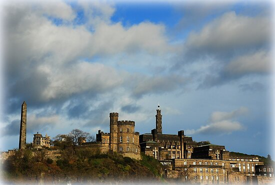 Edinburgh's History...Calton Hill by Francis  McCafferty