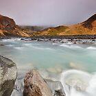 Flowing River by Nicholas Jermy